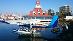 - Bluewater Grill w San Diego Seaplanes, w couple on floats, CALL  1-808-SEA-PLANe or 1-808-732-7526