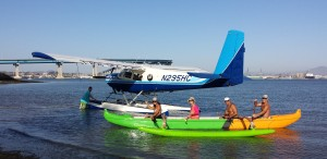 seaplane kayak tours Catalina Island