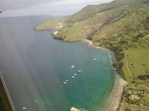Catalina Island by Air
