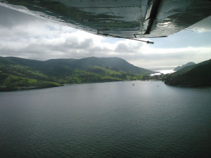 Two Harbors by air